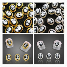 NEW 10pcs 3D Alloy Rhinestones Queen Lady Nail Art Glitters DIY Decoration DIY