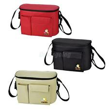 Multi-function Baby Diaper Nappy Changing Bag Mummy Shoulder Bag Khaki/Red/Black