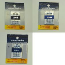 Klasse Jeans Denim Sewing Machine Needles - Choose Assortment
