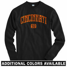 Cincinnati 513 Long Sleeve T-shirt LS - Ohio Bengals Reds Bearcats - Men / Youth