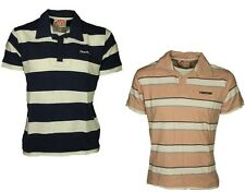MENS POLO TSHIRT LIMESTONE IN NAVY-WHITE & LIGHT PINK COLOURS RRP £19.99