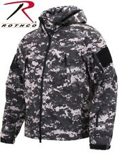 Urban Digital Military Special OPS Tactical Soft Shell Jacket Waterproof 98701