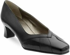 Equity Alicia  Wide Fitting EE Dressy Leather/Patent Leather Court Shoes