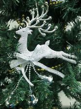 Party ornament Gold Christmas Tree Decoration deer Chital Hanging Xmas Baubles