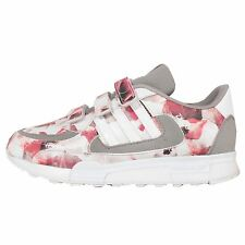 Adidas Originals ZX 850 CF K Grey Floral Kids Youth Running Shoes S77454