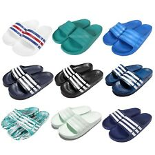 Adidas Duramo Slide 3-Stripes Classic Mens Sports Slippers Slides Sandals Pick 1