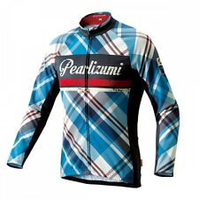New Pearl Izumi No.39 BLUE PLAID 2015FW collection Pro Cycling Jersey Race Bike
