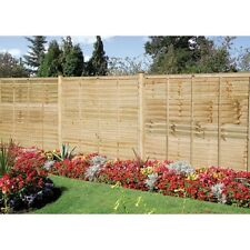 GRANGE 5ft High Wooden The Professional Pressure Treated Garden Lap Fence Panel