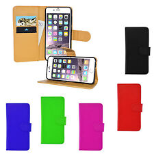 Magnetic Wallet Flip Book Holder Leather Pu Case Cover For Various Apple iPhones