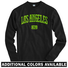 Los Angeles Long Sleeve T-shirt LS - Cali Lakers Clippers Dodgers - Men / Youth