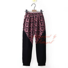 Boys Casual Jogger Dance Sportwear Baggy Harem Pants Slacks Trousers Sweatpants