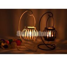 Black/White Pumpkin Lantern Wedding Table Centrepiece Candle Tea Light Holder