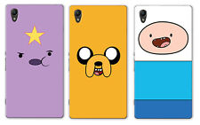 Adventure Time With Finn And Jake Character Sony Xperia Z5 Hard Case
