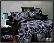 Stylish Print 3pc * KING / QUEEN QUILT DOONA DUVET COVER & 2 PILLOWCASES SET New