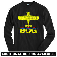 Fly Bogota BOG Airport Long Sleeve T-shirt LS - Avianca Colombia - Men / Youth