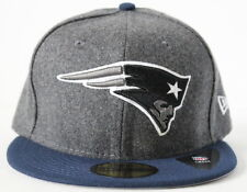 NFL New England Patriots New Era Shader Melt 59FIFTY Adult Fitted Hat Gray/Navy