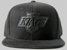 Los Angeles Kings Adult Mitchell & Ness Blacked out Kings High Crown Fitted Hat