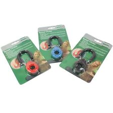 Pet Dog Click Clicker Training Trainer 3 Colors Oval Shape Puppy Dog Cat Toys