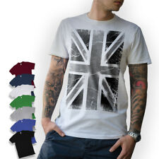 UNION JACK T-SHIRT England London United Kingdom Flag UK Size S M L XL XXL