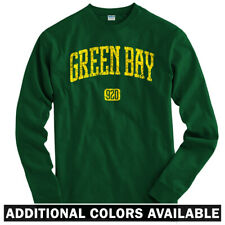 Green Bay 920 Long Sleeve T-shirt LS - Cheesehead Wisconsin Packers  Men / Youth