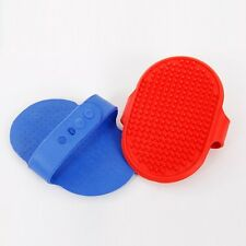 Pet Cleaning Comb Dog Massage Brush Grooming Glove Bath Brush Comb 2 Colors