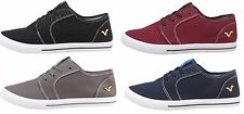 BOYS TRAINERS VOI JEANS BRONSON LACE-UP STYLE BLACK GREY NAVY BURGUNDY 3-5
