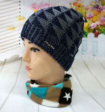 High Knit Oversize Baggy Beanie Blank Winter Slouchy Hat Cap Skull Knit Ski Hat