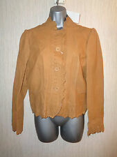 BNWT Ladies Various Size Todays Woman Brown Genuine Leather Jacket RRP £120