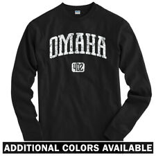 Omaha 402 Long Sleeve T-shirt LS - Nebraska Storm Chasers Spirit - Men / Youth