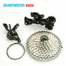 Shimano XT M8000 MTB Groupset 11Speed Rear Derailleur+Right Shifter+Cassette