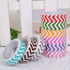 Colorful DIY paper Sticky Adhesive Sticker Decorative Washi Tape Blue