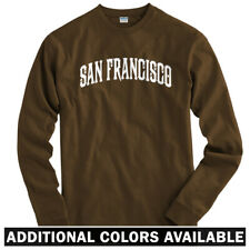 San Francisco Long Sleeve T-shirt LS - California Bay Area Cali SF - Men / Youth