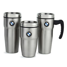 Genuine BMW Roundel Stainless Steel Insulated Travel Mug