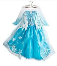 Official Disney Store Frozen Anna Elsa Fancy Dress Party Costume Girls Kids