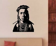 Wall decal Indian western Indian young man sticker wall sticker 5A080