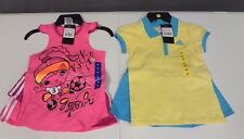 NWT Girl's Adidas 2 Piece Set Athletic Wear - Top with Skort / Skirt