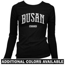 Busan Korea Women's Long Sleeve T-shirt LS - South Korea Giants Yeongnam - S-2X