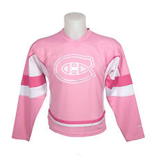 Montreal Canadiens Reebok Youth Pink Fashion Jersey