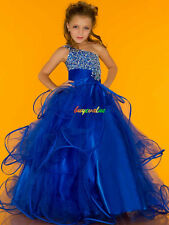 Formal Baby Princess Bridesmaid Flower Girl Dresses Wedding Party Christmas-G