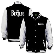The Beatles Classic Drop T Logo Varsity Baseball Jacket (jersey coat)
