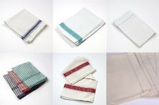 10 Pack 100% Cotton Tea Towels - 8 Colours Available