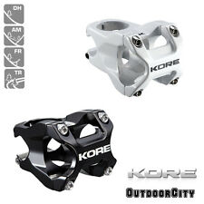 KORE REPUTE Stem White Black 35mm 50mm Downhill MTB Mountain Bike 31.8mm Cycling