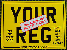 REAR NUMBER PLATE Motorcycle Motorbike Bike SHOW PLATEs free border bottom line