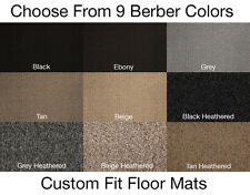 2nd Row Berber Carpet Floor Mat for Jeep Cherokee #T3668