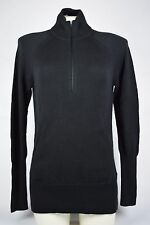 $130 NWT Womens Nike Half Zip Golf Sweater Black 542058 010 sz Large pockets