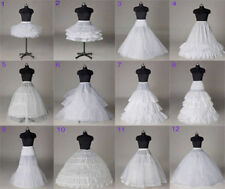 12 Styles wonderful Bridal white petticoat Wedding Crinoline/Slips/Underskirt