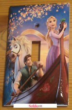 Rapunzel and Flynn Light Switch Power Duplex Outlet Cover Plate