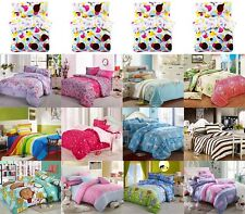 Home Textile Bedding Set Quilt Cover Bed Sheet Pillowcase King Queen Twin Size