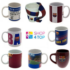 FC BARCELONA FOOTBALL SOCCER CLUB TEAM CERAMIC MUG CUP COFFEE TEA FAN OFFICIAL