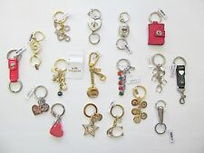 Coach Key Rings Key Chains FOB Different Styles New With Tags and Dustbag